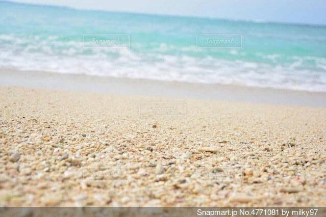 海に行きたくなる一枚の写真・画像素材[4771081]