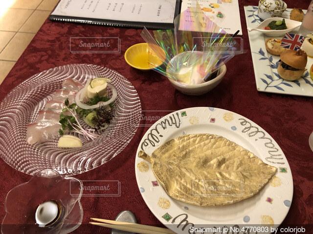 コース料理の写真・画像素材[4770803]