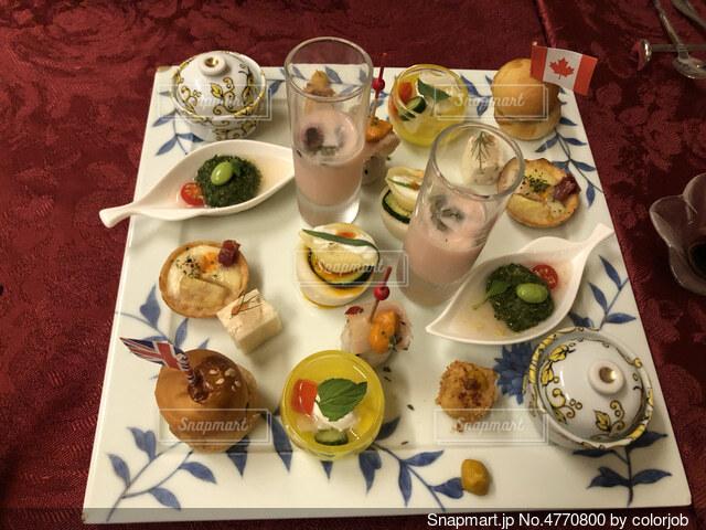 コース料理 前菜の写真・画像素材[4770800]
