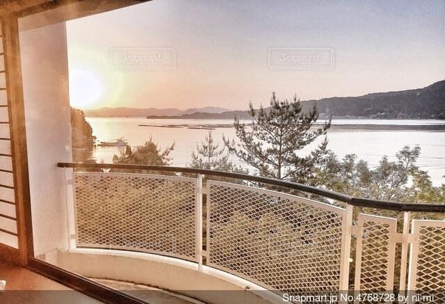 広島での日の出〜旅館にて〜の写真・画像素材[4768728]