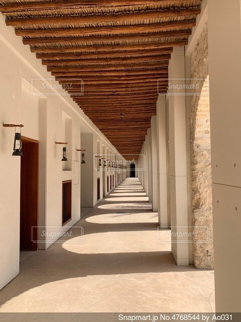 旧式の建築物の写真・画像素材[4768544]