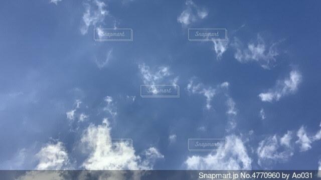 空の雲の群の写真・画像素材[4770960]