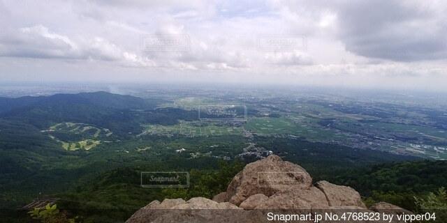 山の眺めの写真・画像素材[4768523]