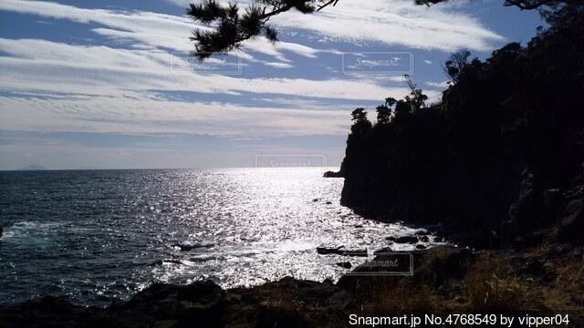 海と影の写真・画像素材[4768549]