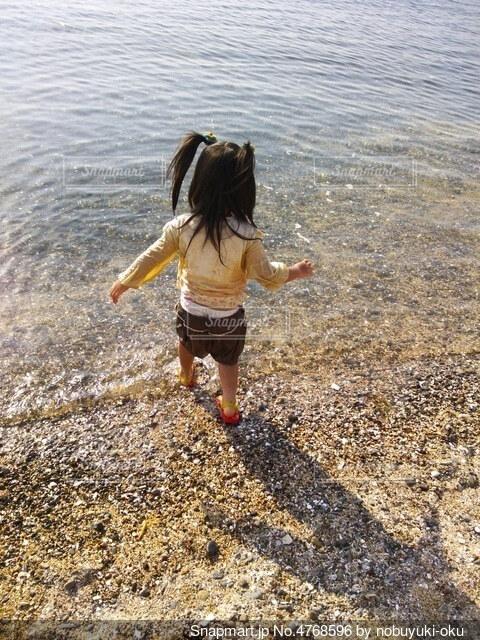 海辺にての写真・画像素材[4768596]