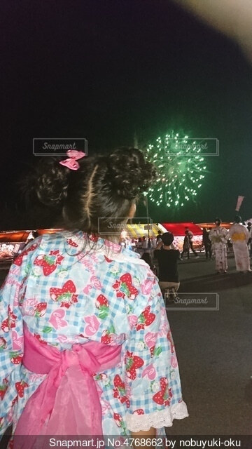花火の写真・画像素材[4768662]