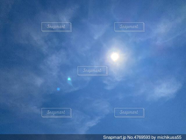空の雲の群の写真・画像素材[4769593]
