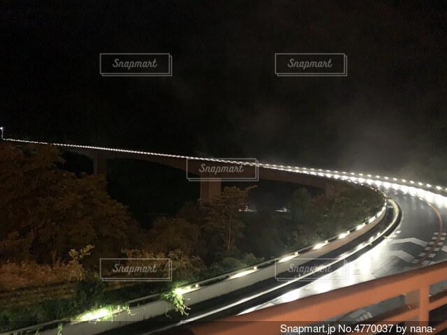 ループ橋の写真・画像素材[4770037]