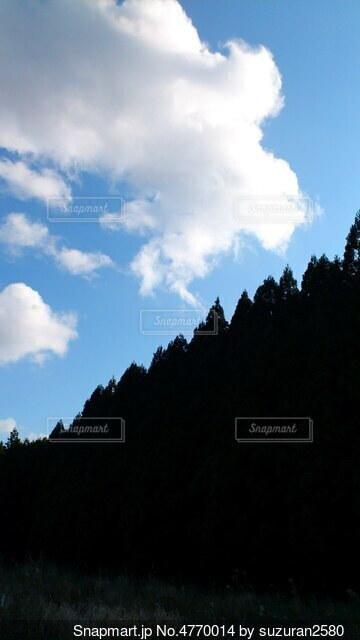 空の雲の写真・画像素材[4770014]
