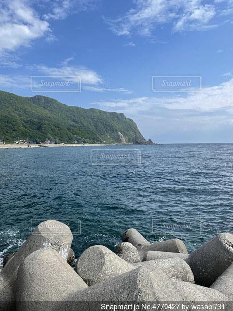 ただの海の写真・画像素材[4770427]