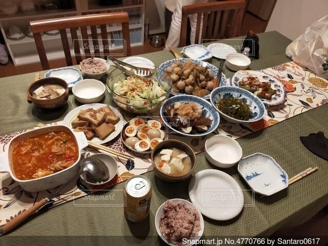 豪華な食事の写真・画像素材[4770766]