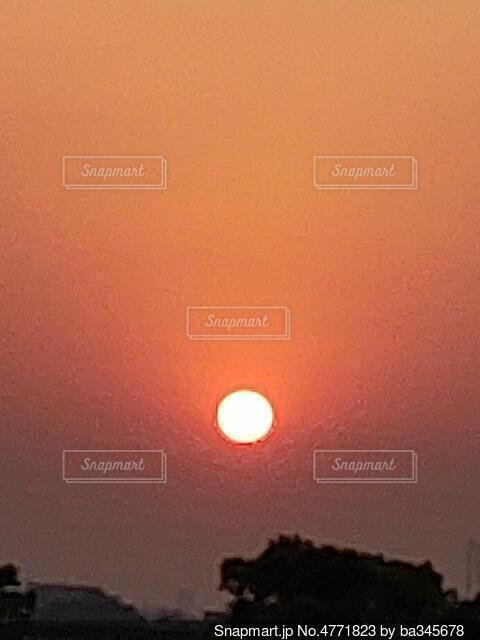 朝陽の写真・画像素材[4771823]