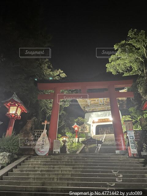 江ノ島インスタ映えスポットの写真・画像素材[4771442]