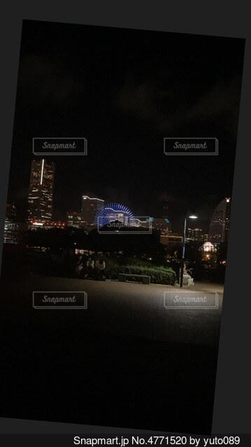 横浜の街並みを探訪できる公園の写真・画像素材[4771520]