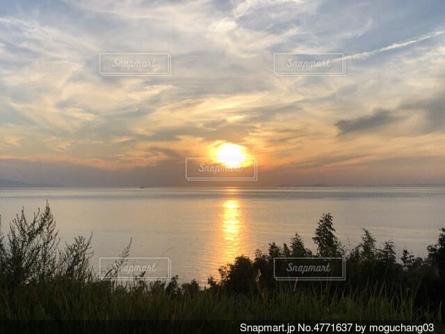 淡路島サンセットの写真・画像素材[4771637]