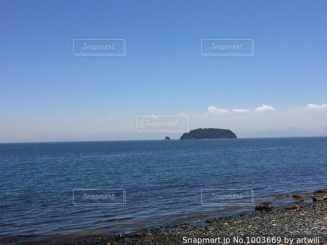 小豆島の海岸の写真・画像素材[1003669]