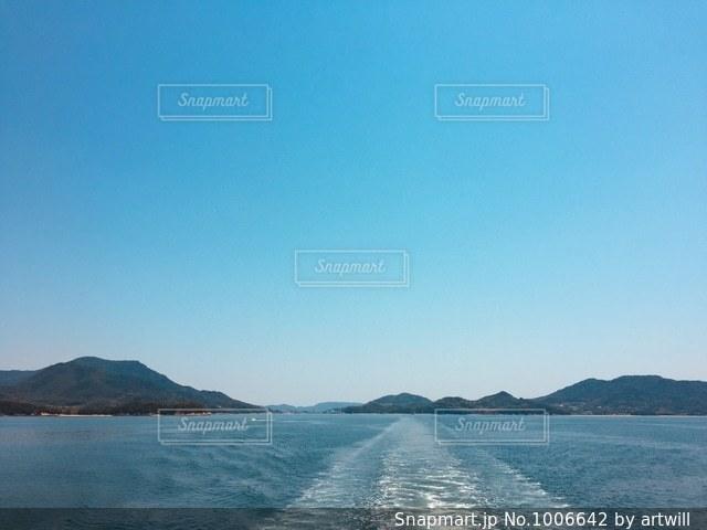 瀬戸内海の写真・画像素材[1006642]
