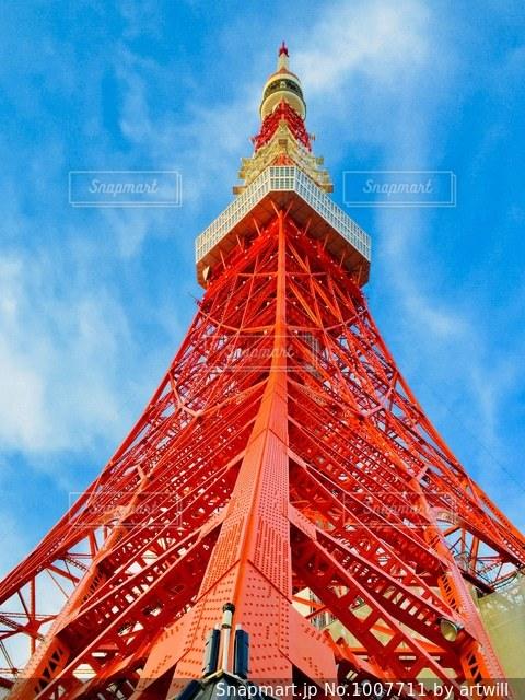 東京タワーの写真・画像素材[1007711]