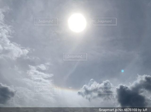 光の輪の写真・画像素材[4876169]