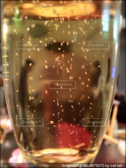 シャンパンからみた景色の写真・画像素材[4875070]
