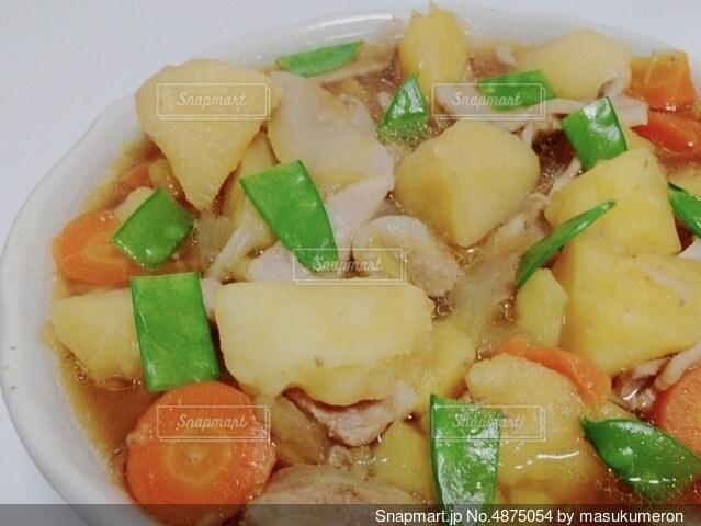 料理は食べ物でいっぱいの写真・画像素材[4875054]