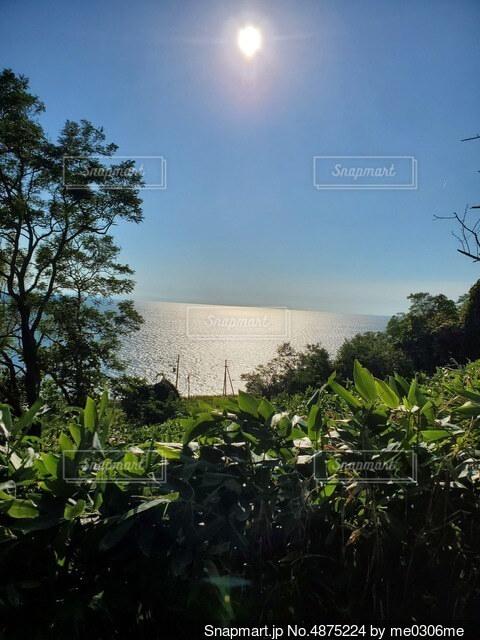 石狩の海の写真・画像素材[4875224]