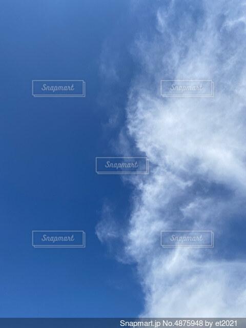 雲と空の写真・画像素材[4875948]