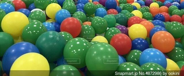 ボールの写真・画像素材[4872986]