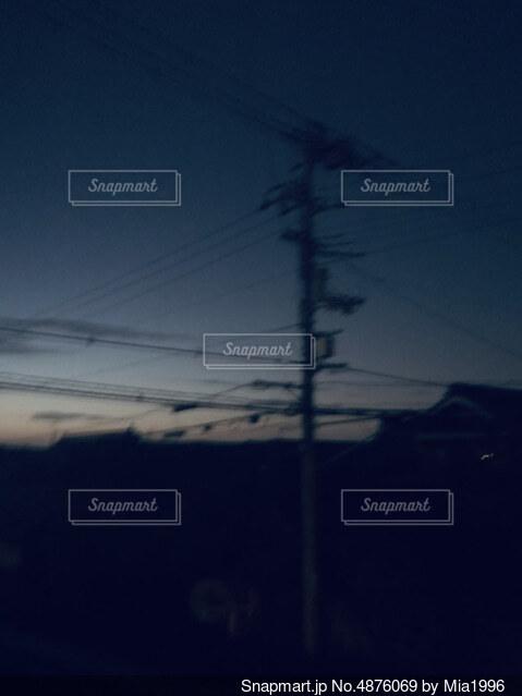 夜がくるの写真・画像素材[4876069]