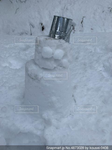 雪遊びの写真・画像素材[4873028]