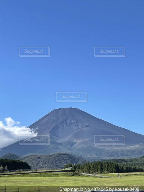 富士山の写真・画像素材[4874045]