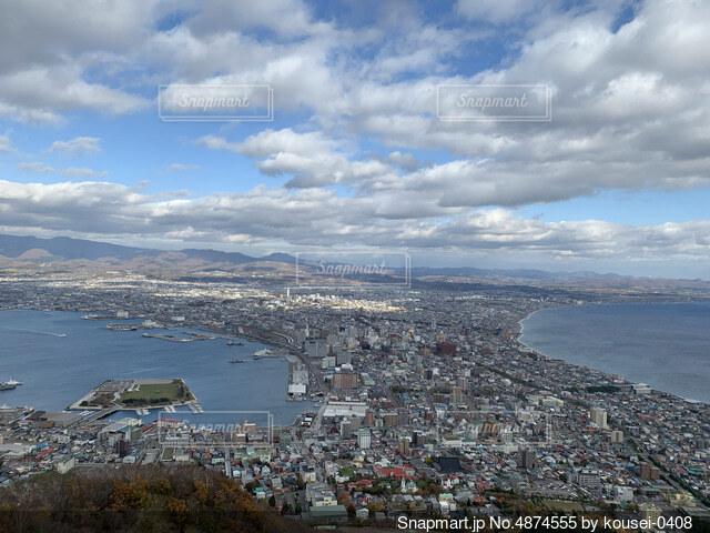 函館山からの景色の写真・画像素材[4874555]