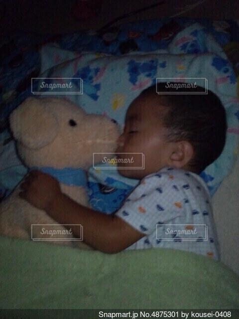 寝顔の写真・画像素材[4875301]