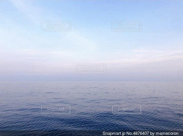 天国の海の写真・画像素材[4876407]