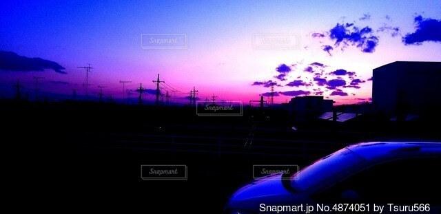 ある町の景色の写真・画像素材[4874051]