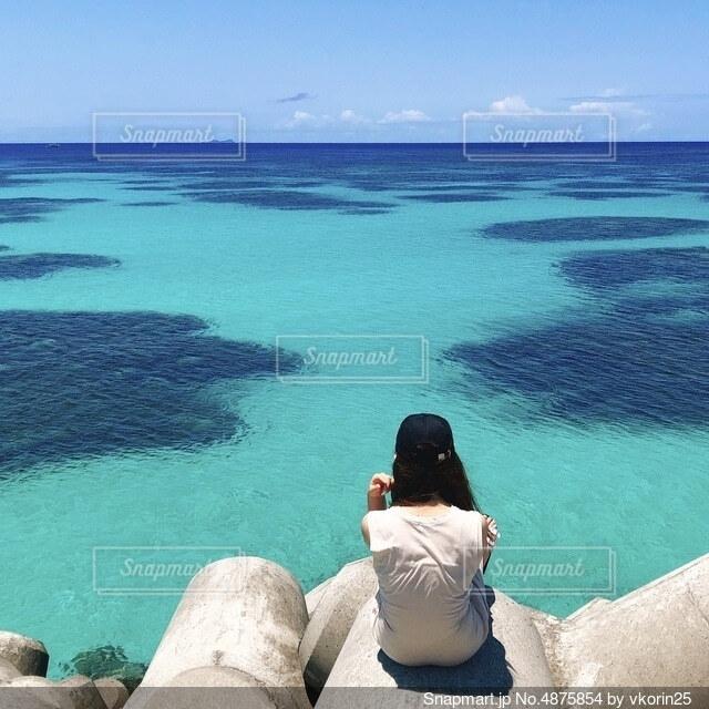 波照間の海の写真・画像素材[4875854]