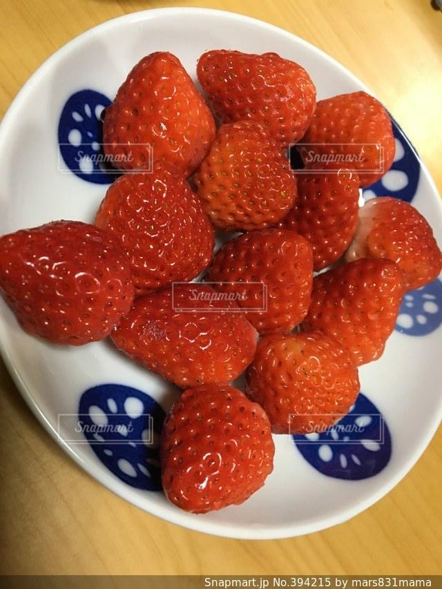 自撮り,いちご,デザート,果物,オリジナル,イチゴ