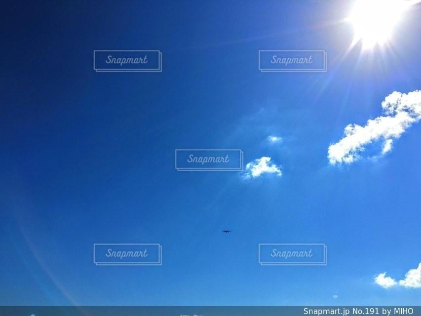 空には雲のグループの写真・画像素材[191]