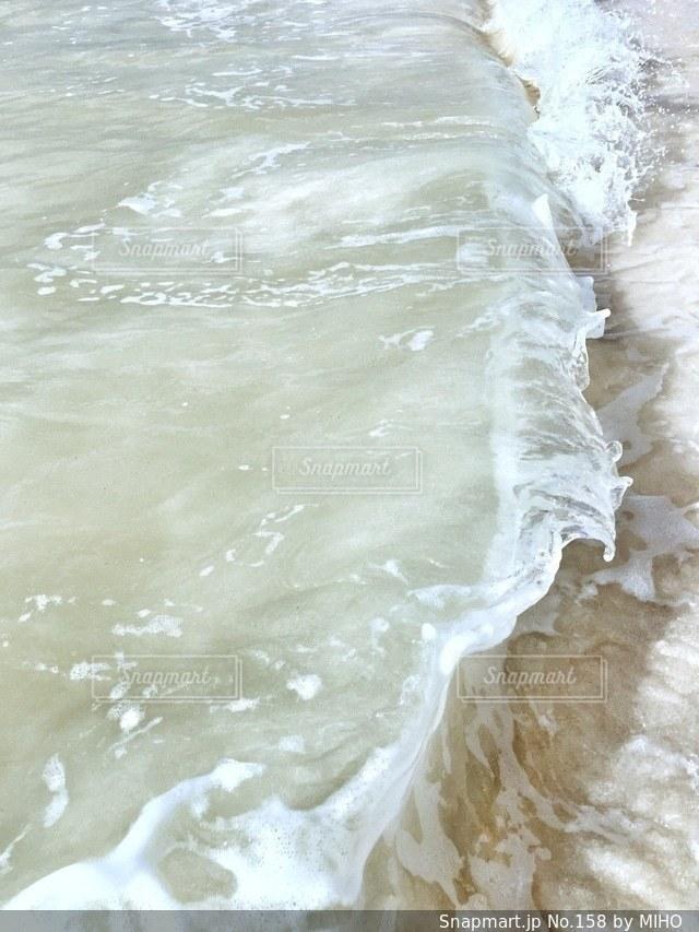 海の横にある水します。の写真・画像素材[158]