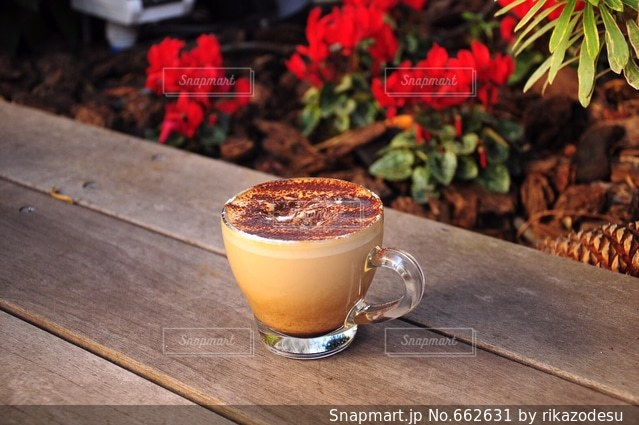 カフェの写真・画像素材[662631]