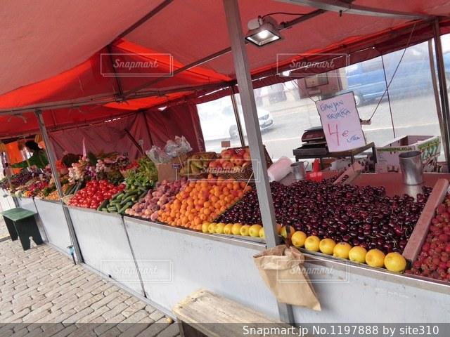フィンランドのマーケットの写真・画像素材[1197888]