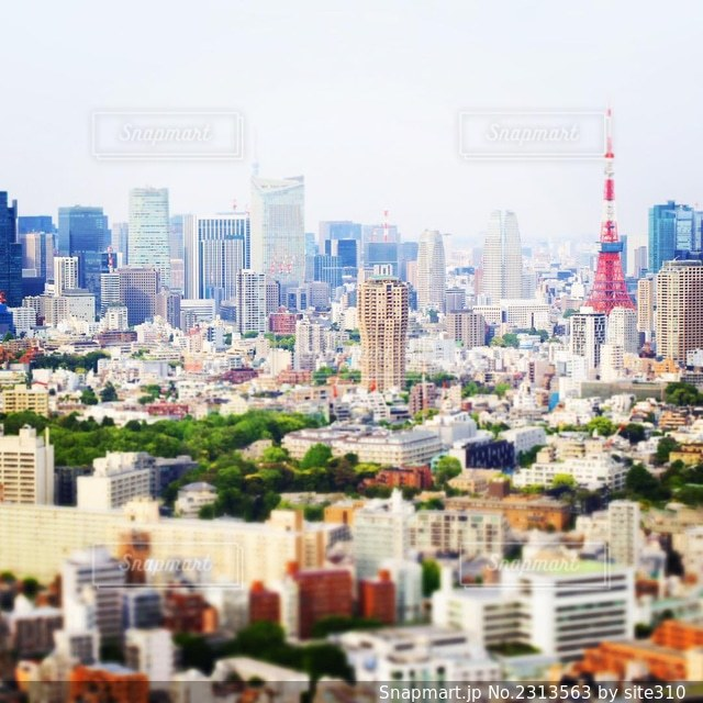 都市の眺めの写真・画像素材[2313563]