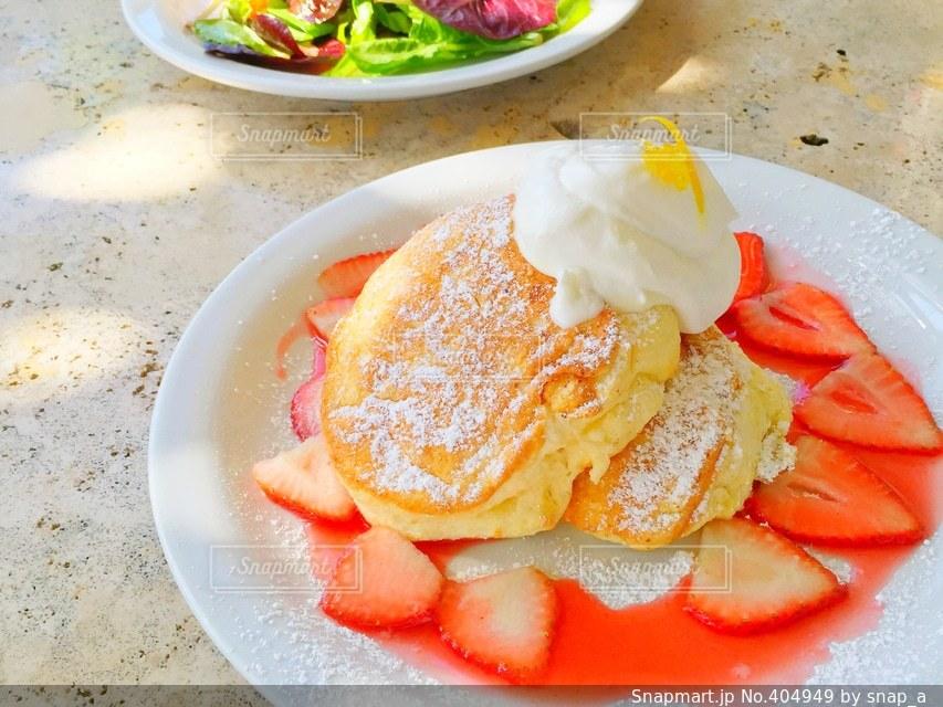 スイーツ,パンケーキ,かわいい,女子,いちご,デザート,ハワイ,Hawaii,Sweets,pancake,イチゴ,starawberry
