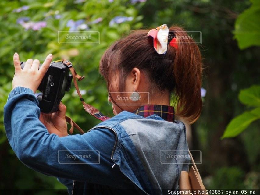 女性の写真・画像素材[243857]