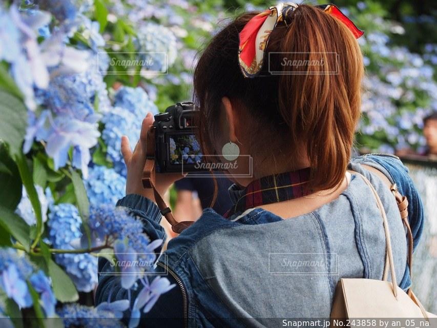 女性の写真・画像素材[243858]