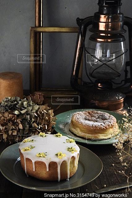 フォトジェニックなケーキ写真の写真・画像素材[3154749]
