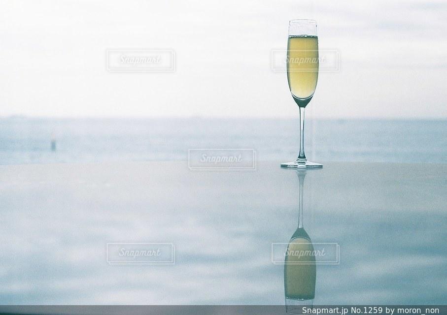 ワインのガラスの写真・画像素材[1259]