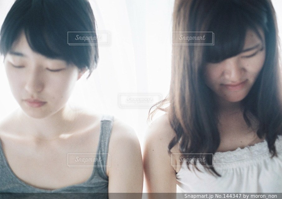 女性の写真・画像素材[144347]