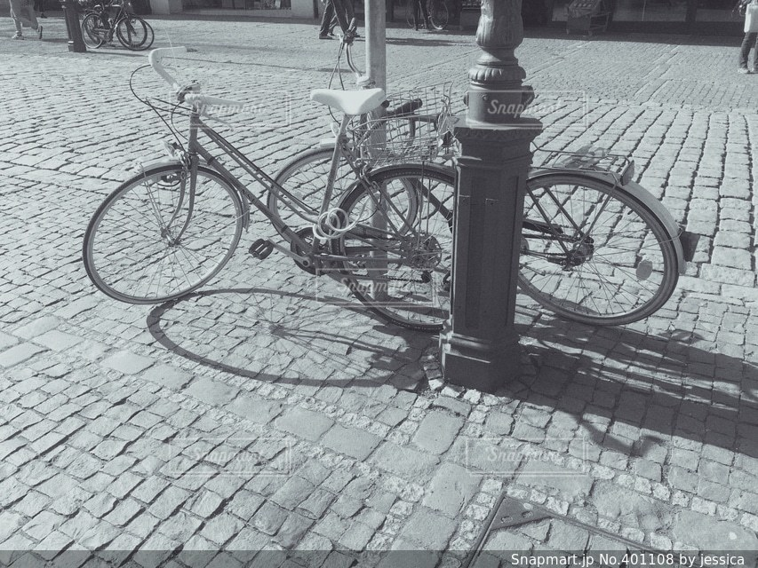 自転車の写真・画像素材[401108]