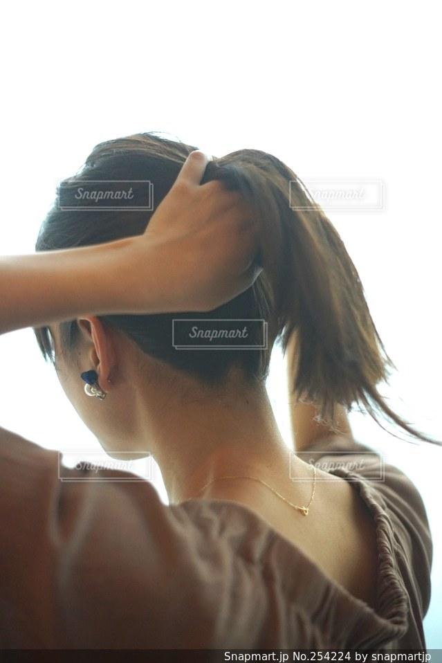 女性の写真・画像素材[254224]
